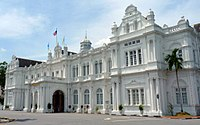 The city hall in George Town, Malaysia, today serves as the seat of the City Council of Penang Island.