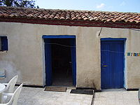 Zidane's parents' house in the village of Aguemoune Ath Slimane in Algeria