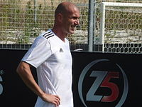 Zidane's Z5 Group is a sporting complex made up of five a side football pitches sponsored by Adidas