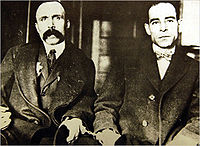 The 1927 executions of Italian anarchists Nicola Sacco (right) and Bartolomeo Vanzetti were troubling for Goldman, then living alone in Canada.