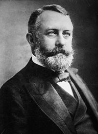 """Goldman and Berkman believed that a retaliatory assassination of Carnegie Steel Company manager Henry Clay Frick (pictured) would """"strike terror into the soul of his class"""" and """"bring the teachings of Anarchism before the world""""."""