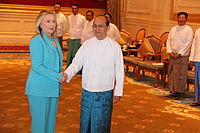 Foreign relations of Myanmar
