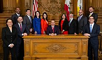 Members of the San Francisco Board of Supervisors