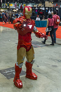 Iron Man suit Mark VI from Iron Man 2 (premiered in 2010)