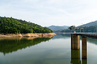 Babagon Dam, the biggest water catchment in the state.