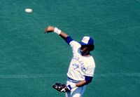 Left fielder George Bell was named the American League MVP in 1987.