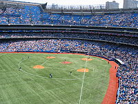 After the 2004 season, FieldTurf replaced AstroTurf as the Rogers Centre's playing surface.