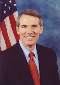 Portrait of Rob Portman used during his time as OMB Director