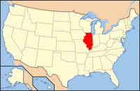 Index of Illinois-related articles