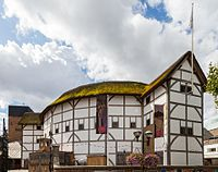 Shakespeare's Globe is a modern reconstruction of the Globe Theatre on the south bank of the River Thames.