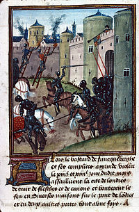 The Lancastrian siege of London in 1471 is attacked by a Yorkist sally