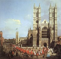 Westminster Abbey, as seen in this painting (by Canaletto, 1749), is a World Heritage Site and one of London's oldest and most important buildings.