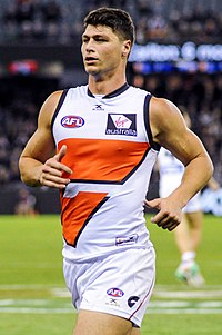 Jonathon Patton, the first pick in the 2011 AFL draft