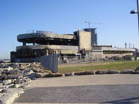 The site of the 2001 Tel Aviv Dolphinarium discotheque massacre, in which 21 Israelis were killed.