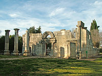 Kfar Bar'am, an ancient Jewish village, abandoned some time between the 7th–13th centuries CE.