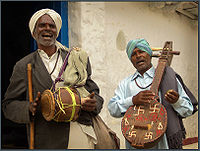 Indians always distinguished between classical and folk music, though in the past even classical Indian music used to rely on the unwritten transmission of repertoire.