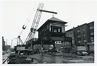 Removal of the Elevated in 1987