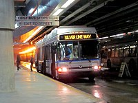 The SLW was one of three MBTA bus routes to show a net profit in a 2012 study.