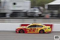 Joey Logano won the second stage.