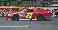 Stremme's 2011 Cup car at Charlotte