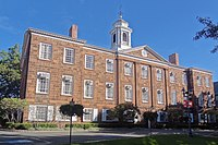 Old Queens at Rutgers University, the flagship of public higher education in New Jersey