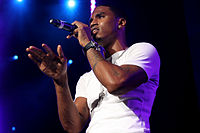 Songz performing at the Summer Jam in June 2010.
