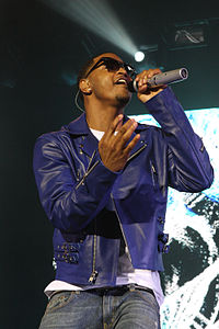Songz performing at the Supafest in April 2012.