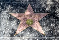Keaton's star on the Hollywood Walk of Fame
