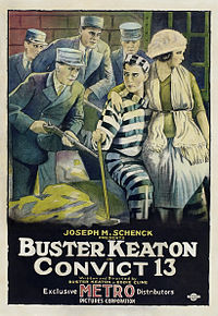 Theater poster for Convict 13 (1920)