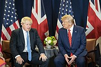 """The United Kingdom has a """"special relationship"""" with the United States"""