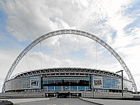 Wembley Stadium, London, home of the England national football team, is one of the most expensive stadiums ever built.