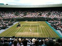 Wimbledon, the oldest Grand Slam tennis tournament, is held in Wimbledon, London every June and July.