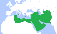 The Abbasid Caliphate at its greatest extent, c. 850.