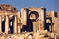 Flourished in the 2nd century, the strongly fortified Parthian city of Hatra shows a unique blend of both Classical and Persian architecture and art.