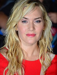 Winslet at the premiere of Divergent in 2014