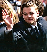 """Leonardo DiCaprio (pictured) was paired opposite Winslet in Titanic (1997). A journalist for Vanity Fair labelled them """"Hollywood's most iconic screen couple"""" since Humphrey Bogart and Ingrid Bergman"""