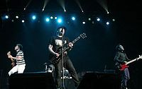 Fall Out Boy performing in 2006