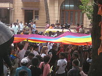 Gay Pride March in Bangalore, India (2013)