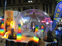 Sydney's pride parade, Sydney Gay & Lesbian Mardi Gras, is one of the world's largest and is held at night
