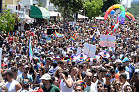 The Tel Aviv Pride Parade is the largest pride parade in Asia