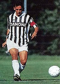 Baggio with Juventus