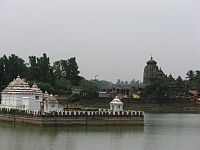 View of Ananta Vasudeva Temple from Bindusagar