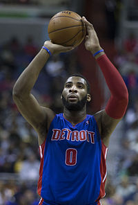 Andre Drummond was selected by the Pistons with the ninth overall pick in 2012 NBA draft.