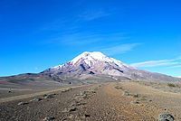 Thesummitof Chimborazo, the point on the Earth's surface that is farthest from the Earth's center