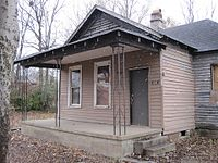 Franklin's birthplace, 406 Lucy Avenue, Memphis, Tennessee