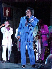 Brown during the NBA All-Star Game jam session, 2001