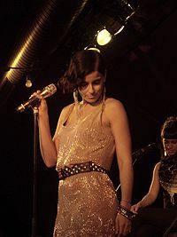 Nelly Furtado performing in Freiburg on October 3, 2009.