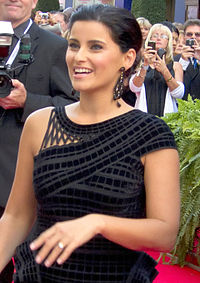 Furtado at her Canada's Walk of Fame induction ceremony on October 17, 2010