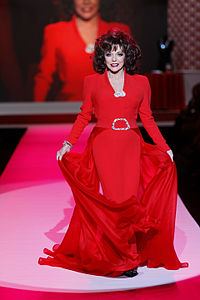 Collins at The Heart Truth's Red Dress Collection Fashion Show in 2010
