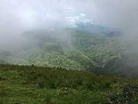 Clouds kissing the mountains of Obudu